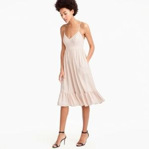 J.Crew Pink/Cream Formal Dress Tall